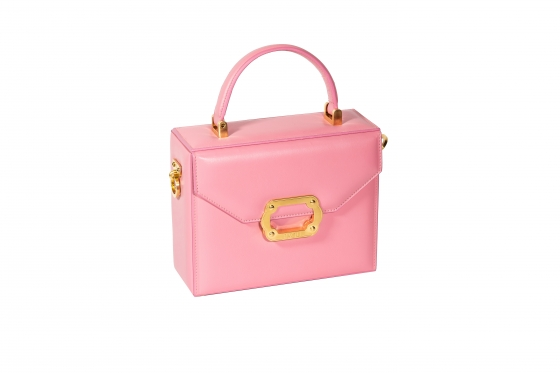 900' Classic Bag (Pink) Antique Gold