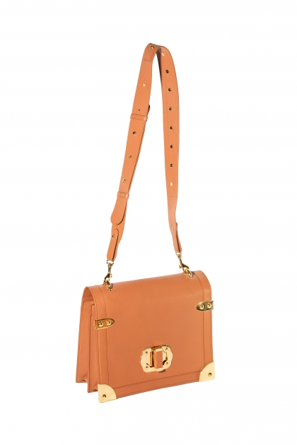 Elizabeth Bag (Cognac) Gold