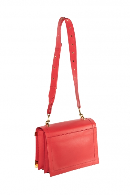 Victoria Bag (Red) Gold